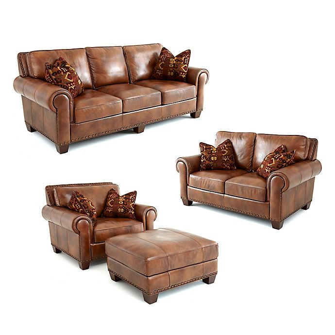 Steve Silver Co Silverado Leather Living Room Collection Bed Bath