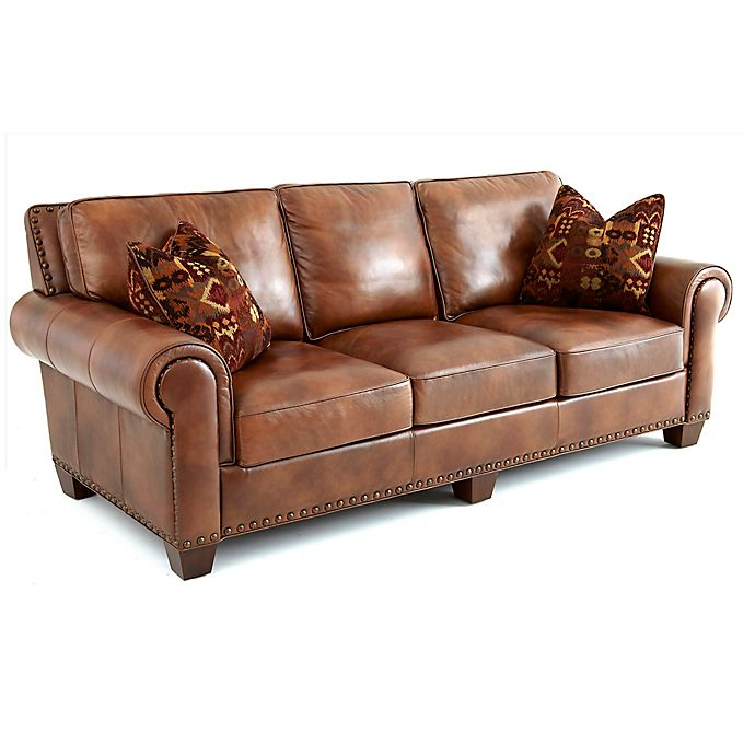 Steve Silver Co Silverado Sofa In Camel Bed Bath Beyond