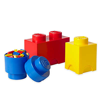 LEGO® 3-Piece Storage Brick Set