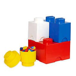 LEGO® 4-Piece Storage Brick Set