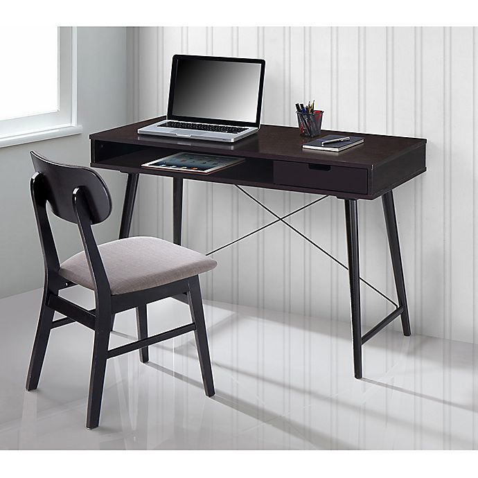 Techni Mobili Modern Matching Desk And Chair Set Bed Bath Beyond