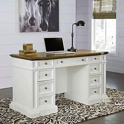 Home Styles Americana Pedestal Desk