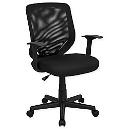 Flash Furniture Mid-Back Mesh Task Chair with Mesh Padded Seat