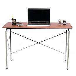 Techni Mobili Stylish Writing Desk  in Mahogany