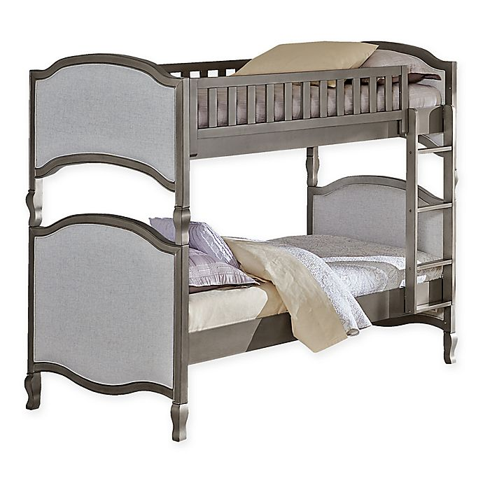 Alternate image 1 for Hillsdale Kensington Victoria Twin-Over-Twin Bunk Bed in Antique Silver