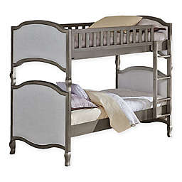 Hillsdale Kensington Victoria Twin-Over-Twin Bunk Bed in Antique Silver