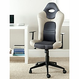 Safavieh Belinda Desk Chair in Grey