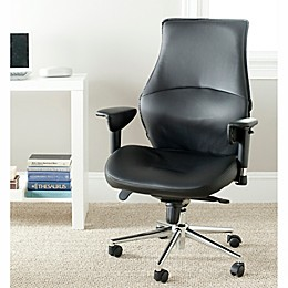 Safavieh Irving Desk Chair in Black