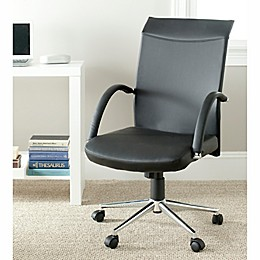 Safavieh Dejana Desk Chair in Black