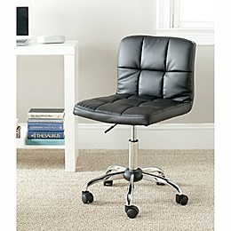 Safavieh Brunner Desk Chair in Black