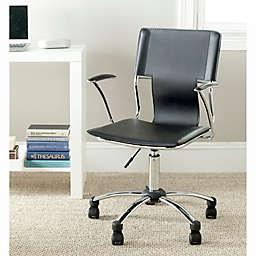 Safavieh Kyler Desk Chair in Black