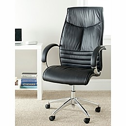 Safavieh Martell Desk Chair in Black
