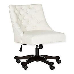 Safavieh Soho Desk Chair in Creme