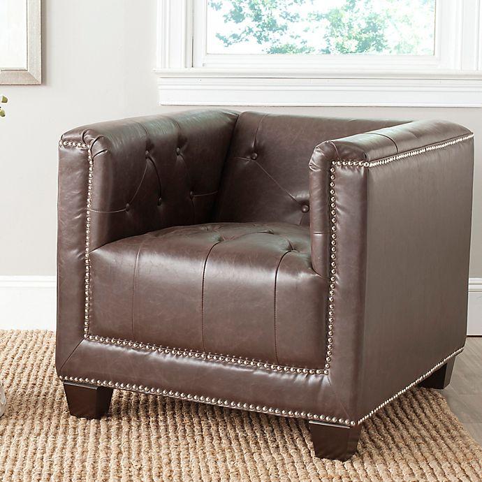 Bentley Furniture: Safavieh Bentley Club Chair In Antique Brand