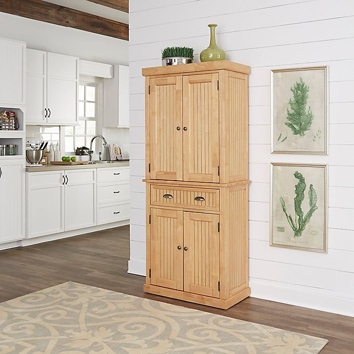Alternate image 1 for Home Styles Nantucket Pantry in Natural