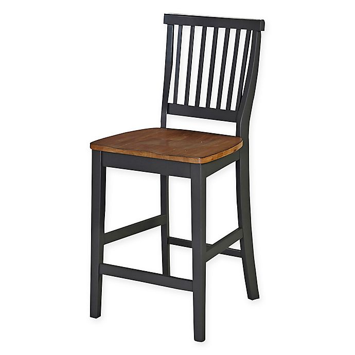 Alternate image 1 for Home Styles Americana Counter Stool in Grey