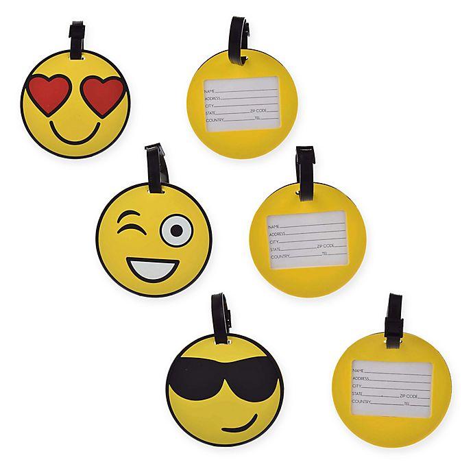 Alternate image 1 for Formations Emoji Luggage Tag