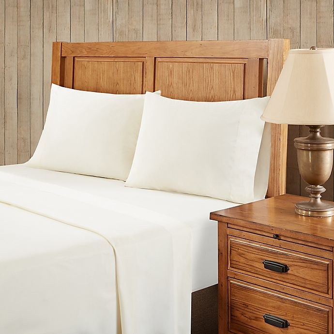 Alternate image 1 for Premier Comfort Softspun All Seasons Twin Sheet Set in Ivory