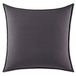 Vera Wang™ Floral Jacquard European Pillow Sham in Dark Purple