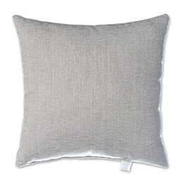 Glenna Jean Lil Sailboat Velvet Square Throw Pillow in Grey