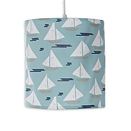 Glenna Jean Lil Sailboat Hanging Drum Shade Kit in Blue