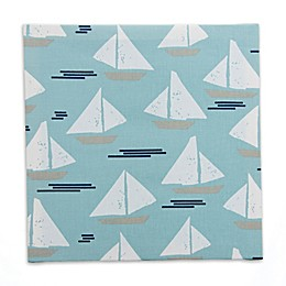 Glenna Jean Lil Sailboat Sailboat Wall Art in Blue