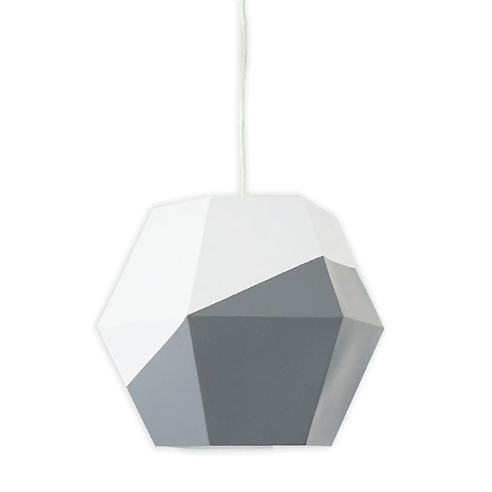 Alternate image 1 for Petunia Pickle Bottom® Southwest Skies 1-Light Pendant in Grey/White