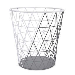 Petunia Pickle Bottom® Southwest Skies Wire Hamper in Grey/White