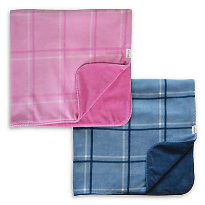 Hello Spud Plaid Picnic Blanket