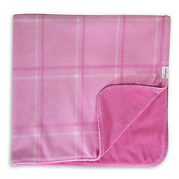 Hello Spud Plaid Picnic Blanket in Pink