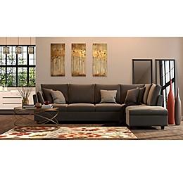 Golden Contemporary Living Room