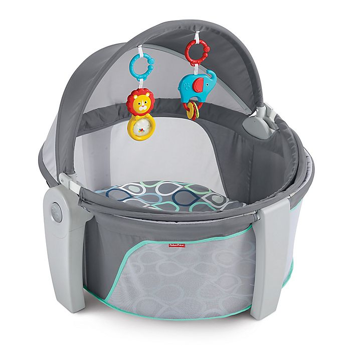 Alternate image 1 for Fisher-Price® Bubbles On-the-Go Baby Dome