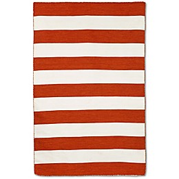 Liorra Manne Sorrento Rugby Stripe Indoor/Outdoor Rug