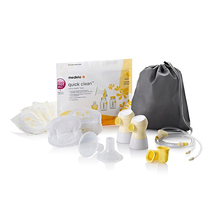 Alternate image 1 for Medela® Sonata™ Double Pumping Kit