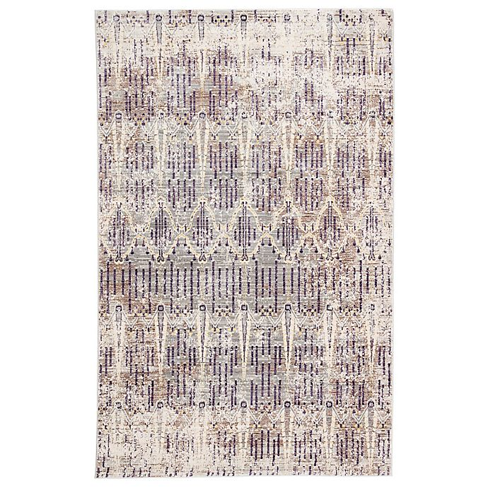 Alternate image 1 for Jaipur Ceres Salacia 10-Foot x 7-Foot 6-Inch Rug in Grey/Pink