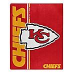 NFL Kansas City Chiefs Royal Plush Raschel Throw