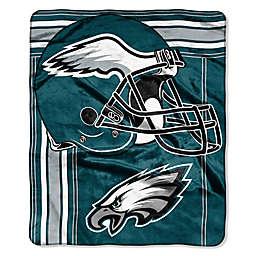 33eec81d9 NFL Philadelphia Eagles Royal Plush Raschel Throw