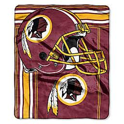 6034286eb NFL Washington Redskins Royal Plush Raschel Throw