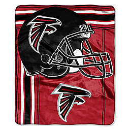 NFL Atlanta Falcons Royal Plush Raschel Throw 2e15b2a89