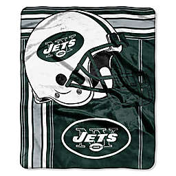 NFL New York Jets Royal Plush Raschel Throw