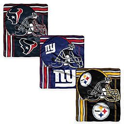 NFL Royal Plush Raschel Throw