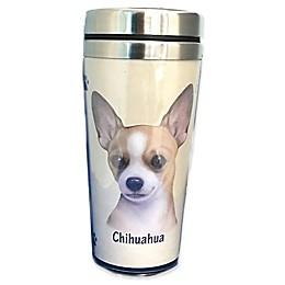 E&S Pets 16 oz. Chihuahua Stainless Steel Travel Mug