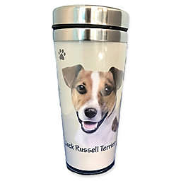 E&S Pets 16 oz. Jack Russell Terrier Stainless Steel Travel Mug