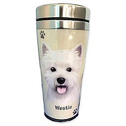 E&S Pets 16 oz. Westie Travel Mug