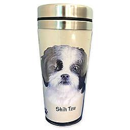 E&S Pets 16-Ounce Shih Tzu Travel Mug