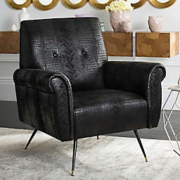 Safavieh Mira Faux Leather Chair