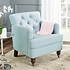 Safavieh Colin Club Chair in Sky Blue