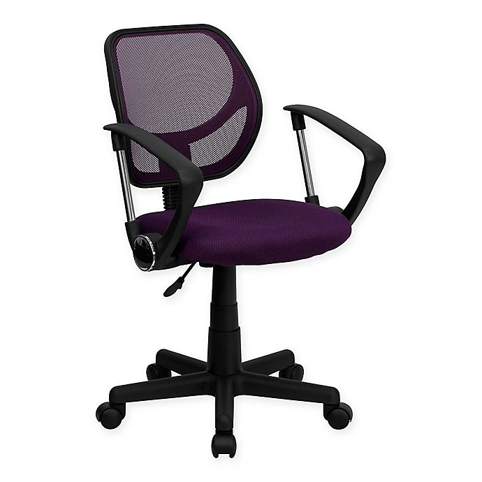 Alternate image 1 for Flash Furniture Mesh Low Back Swivel Task Chair