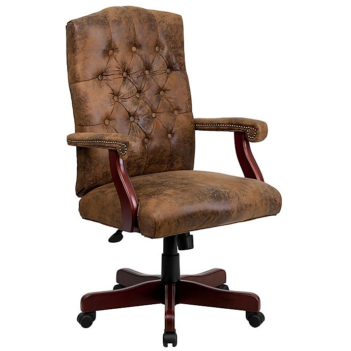 Awesome Flash Furniture Classic Executive Swivel Office Chair In Interior Design Ideas Tzicisoteloinfo