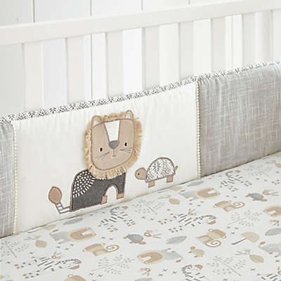 Levtex Baby® Kenya 4-Piece Crib Bumper Set in Grey